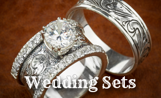 Gentil Stunning Custom Western Wedding Rings Images   Style And Ideas .